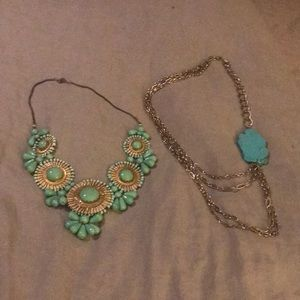 Anthropologie Necklace Bundle